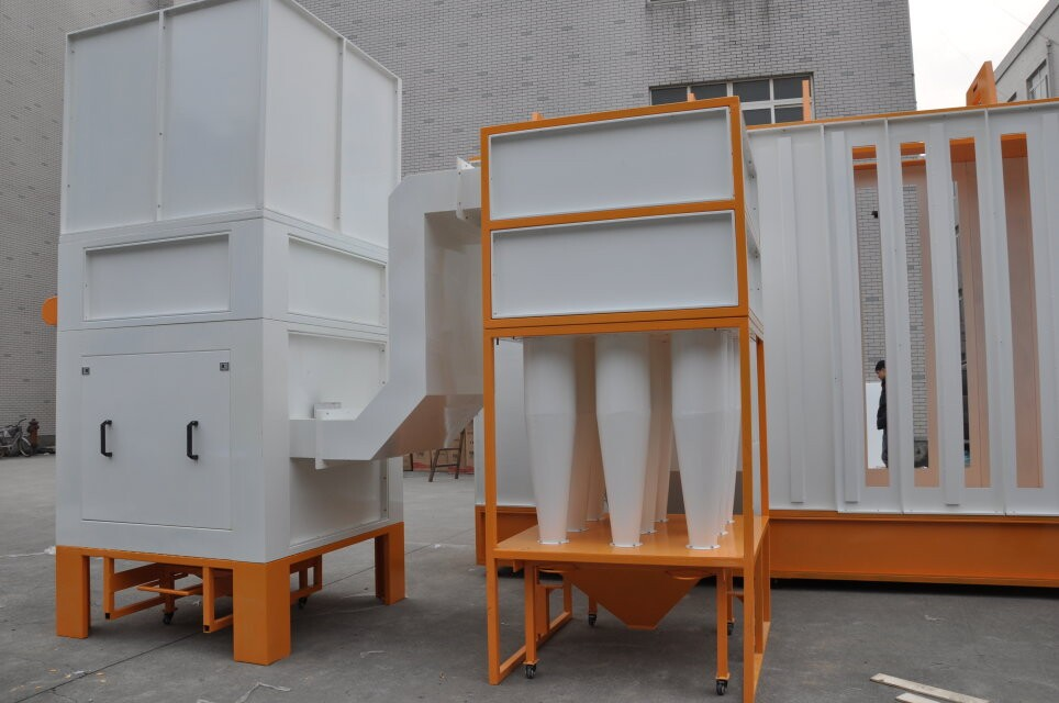 Automatic Powder Coating Booth colo-6157