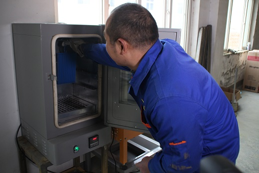 Lab Testing Powder Coating Oven for Sample COLO-4355-T