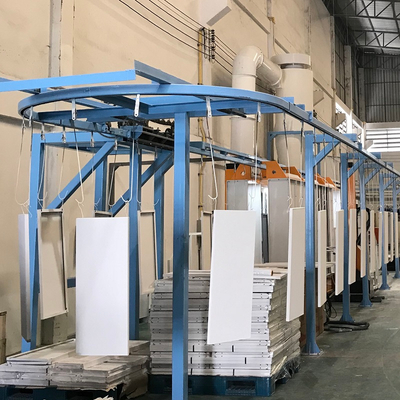 Powder Coating Overhead Conveyor System