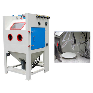 Automatic Turntable Sandblasting Cabinet