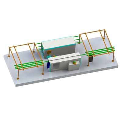 Manual Powder Coating Conveyor Line