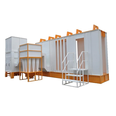 Multi-Cyclone Automatic Powder Coating Booth
