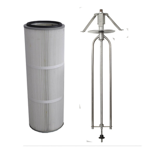 Powder Coating Booth Filter (Rotary Wing Type)