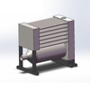 Powder Coating Oven Heat Exchanger