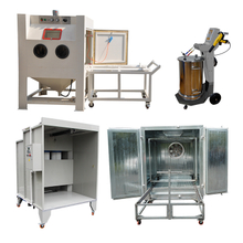 Sandblasting And Powder Coating Equipment Package