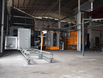 Semi-Auto Powder Coating Line in Malaysia