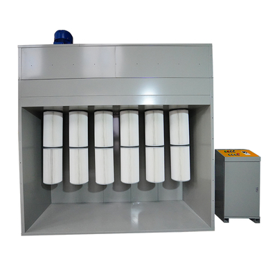 Powder Booth Collection Module, Filter Cartridge Collector Module