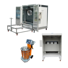 Car Rim Powder Coating Equipment Package